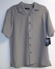 Via Europa Size Small Textured Marsh Button Down Shirt New Mens Clothing