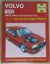VOLVO 850 1992-1996 PETROL HAYNES WORKSHOP MANUAL 3260