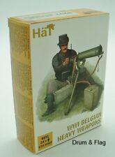 HaT 8291 WW1 Belgian Heavy Weapons 1/72 scale
