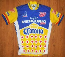 Fashion Bike Cycling Zippered Race Shirt Corrona InJuDeZ Mercurio Team Alu Bike