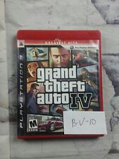 PS3 Grand Theft Auto IV Complete with Liberty City Map and Guidebook Action Pack