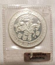 100 Schilling 1977 Silber Pollierte Platte Originalverschweist in Folie