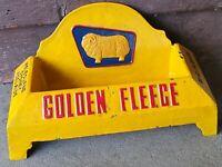 Golden Fleece Dog Bowl or Out Door Ash Tray - Cast Iron -Man Cave, Garage Or Bar
