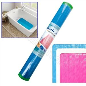 Traditional Non Slip Rubber Bath Mat Suction Cups Shower Grip PVC Strong Soft