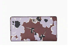 🌸NWT Kate Spade Stacy Large Slim Bifold Wallet Cameron Paper Rose Pink Floral
