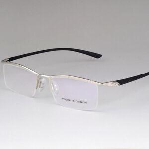 TR90 Half Rimless Myopia Titanium Eyeglass Frames Glasses Spectacles Eyewear Rx