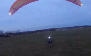 Strobe System For Paramotors & Powered Paragliders - Three Lights, Helmet & Wing