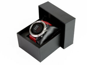 BOXED Garmin Fenix 3 GPS Multisport Running/Fitness Watch - Silver/Red-RRP £429