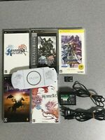 Sony PSP 3000 Final Fantasy Dissidia 20th Limited Console with 5games Japan