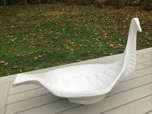 Jonathan Adler WHITE Menagerie Large Bird Bowl