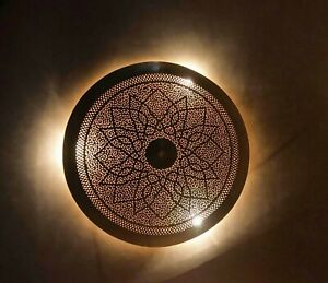 Moroccan wall and Roof lamp Sunlight lamp handmade, 50 cm