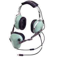 NEW GENUINE US MILITARY AIRCREW DAVID CLARK H7010 AVIATION HEADSET & MICROPHONE.