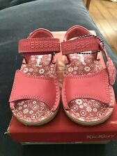 Kickers Designer Girls Leather Pink Adlar Sandals Euro 29 UK 11 BNIB