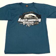 Harley Davidson Mens T Shirt XL Grand Cayman Pirate Short Sleeve Eagle