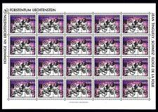 Liechtenstein Kleinbogen MiNr. 1084 postfrisch/ MNH Kunst (1084