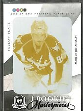 2010-11 Upper Deck The Cup Yellow Printing Plate #SPGU-141 Marcus Johansson