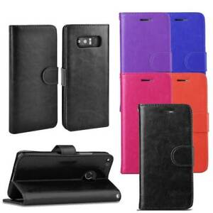 For Samsung A32 A42 A12 A72 5G Magnetic Flip Wallet Leather Phone Case Cover UK