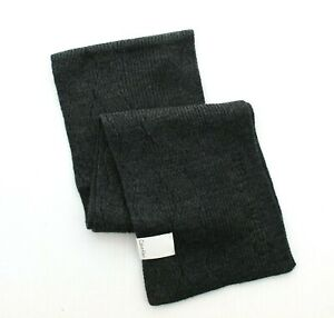 Calvin Klein Scarf Men's CK Chunky Knit Wave Winter Neck Muffler, $55