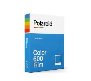 Polaroid Color / Colour Instant Film for Polaroid 600 Cameras - White Frame