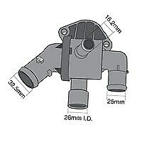Tridon Thermostat Boxed TT698-195 fits Volkswagen Polo 1.6 TDI (6R) 66kw