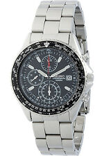 SEIKO SND253P1,Men's CHRONOGRAPH,STAINLESS STEEL,100M WR,NEW,SND253
