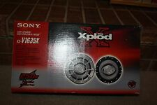 "Sony Explode  6"" XS-V1635X Speakers Pair 250W"