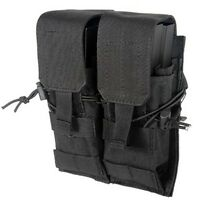 Lancer Tactical CA-358B Dual Double Stack 5.56 .223 7.62 Magazine Pouch Black