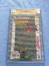 Ultimate Spider-Man Special #1 (Jul 2002 Marvel) CGC SS  9.8 WP 3 Signatures
