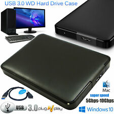 USB 3.0 EXTERNAL HARD DRIVE 3.5'' Drive HDD Case Caddy Cover For Western Digital