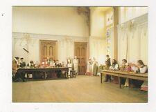 Kentwell Hall Long Melford Tudor Life Gentry At Table Great Hall Postcard 867a