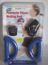 Sportline Fitness Walking Pack Talking Pedometer Weights Item # 601677