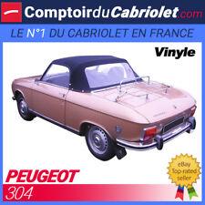 Capote Peugeot 304 cabriolet en Vinyle