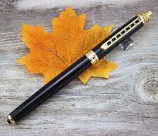 Jinhao rollerball rollerball templo paz oro negro pen bolígrafo + estuche