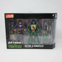 BATGIRL & DONATELLO 2-PACK BATMAN VS TEENAGE MUTANT NINJA TURTLES TMNT