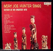 IVORY JOE HUNTER-SINGS SIXTEEN GREATEST HITS-Near Mint Album-CANDID #CJS 9001