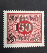 Germany 1938 Sudetenland Rumburg Michel 41 Mint Hinged * Signed