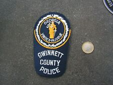 PATCH POLICE ECUSSON COLLECTION  USA   police gwinnet