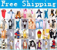 2021 New Unisex Adult Pajamas Kigurumi Cosplay Costume Animal Sleepwear Suit