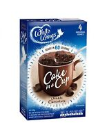 White Wings Double Chocolate Cake In A Cup 4 Pack 220gm