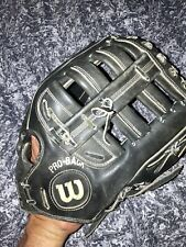 New listing Wilson USA A2000 Pro-Back Baseball Softball Glove Right Hand Throw