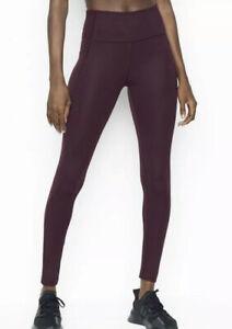 Victoria Secret Women's High Rise Incredible Studio Leggings In Dark Violet