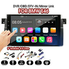 """For BMW E46 3 Series 9"""" Android 8.1 Car Radio GPS Navigation Multimedia Player"""