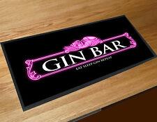 Gin Bar Pink Neon party bar runner mat Cocktail bars & Pubs