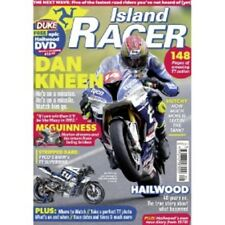 Island Racer 2018  Isle of Man TT'18 Racing Guide bookazine with free dvd motorc