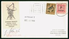 Mayfairstamps Australia 1968 Aollo 7 Tracking Station Director Signed Cover wwp7