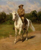Rosa Bonheur Unknown Poster Reproduction Paintings Giclee Canvas Print