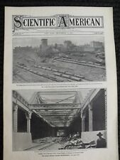 SA-9/16 1905-Panama Canal Planning-Aerial Rowboat-Submarine Boats-Solar Eclipse
