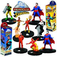 DC Superman Flashpoint Heroclix Booster 5 figure Pack UK Seller