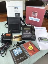 Sony MZ-1 Minidisc MINT Complete With Accessories & Minidisc Sampler