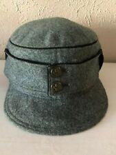 Vintage Authentic Ww2 Swiss Army 1944 Field Cap Hat Frey et Fils Switzerland, 56